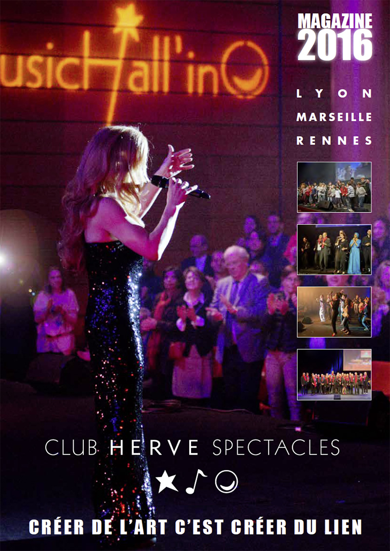 magazine Club Hervé spectacle